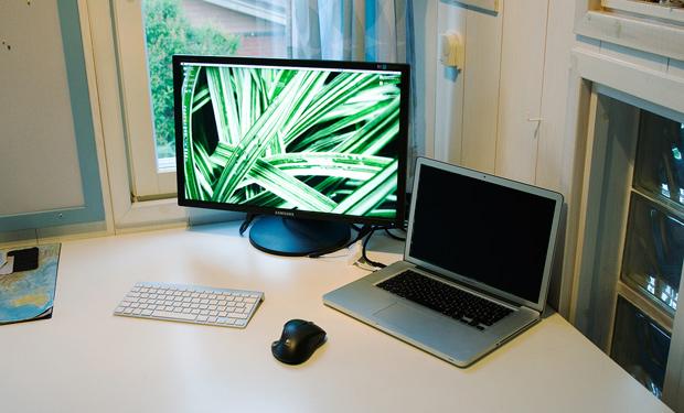 Как сделать внешний монитор ноутбука основным